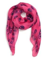 157515524995 Women s Hot Pink Scarves by Alexander McQueen   Women s Fashion ...