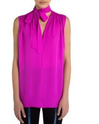 Emilio Pucci Sleeveless Silk Top