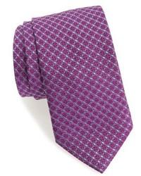 Grid silk tie medium 3943427