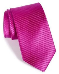 Shop solid textured silk tie medium 950794