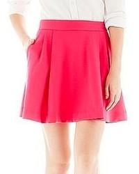 Hot Pink Skater Skirt