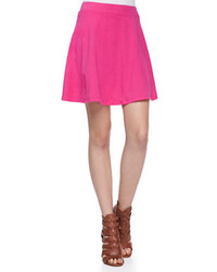Jersey skater skirt hot pink medium 54222