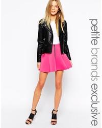 Petite skater skirt with zip front medium 175953