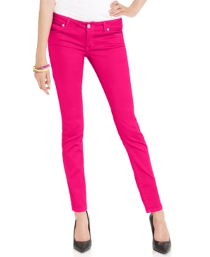 Add a pop of color to your wardrobe with these versatile skinny jeans! Crafted with comfortable fabric and a flattering silhouette, these will easily pair with any 5/5(7).