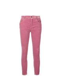Miu Miu Corduroy Skinny Fit Jeans
