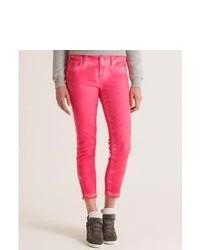 Superdry Super Skinny Crop Jeans Pink 32