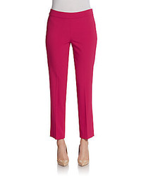 Slim wool blend cropped pants medium 443678