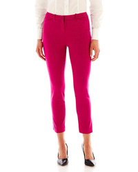 jcpenney Worthington Slim Ankle Pants Tall
