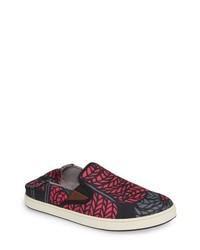 Hot Pink Slip-on Sneakers