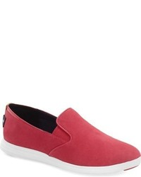 e751d7863c45 How to Wear Hot Pink Slip-on Sneakers For Women (11 looks   outfits ...