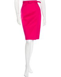 Belted pencil skirt medium 1201386