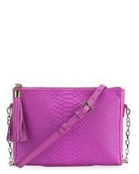Hailey embossed python leather crossbody bag medium 3716968