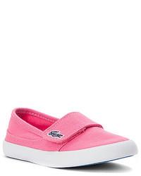 Lacoste Girls Kids Marice Slip On Sneaker Toddler