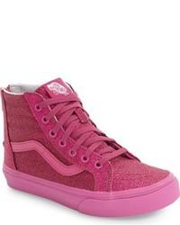Vans Toddler Girls Sk8 Hi Zip Sneaker