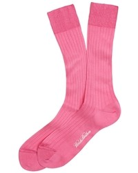 Brooks Brothers Filo Di Scozia Dress Crew Socks