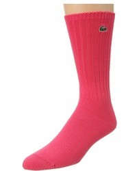 Lacoste Classic Crew Sock Crew Cut Socks Shoes