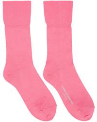 Comme des Garcons Comme Des Garons Pink Long Socks