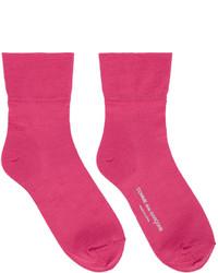 Comme des Garcons Comme Des Garons Pink Short Socks