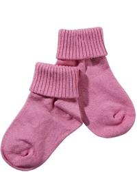 Jefferies Socks Jefferies Seamless Triple Roll Hot Pink 9 1