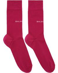 Pink logo socks medium 4392525