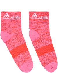 adidas by Stella McCartney Two Pack Pink Purple Running Socks