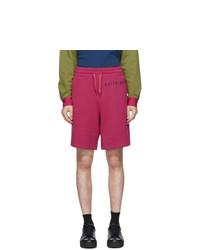 Moschino Pink Fantasy Print Uomo Shorts