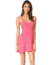 For Love & Lemons Pink Star Tank Dress