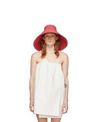 Jacquemus Pink Le Chapeau Valensole Beach Hat