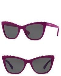 Valentino Garavani 54mm Studded Cat Eye Sunglasses