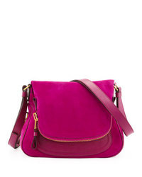 Tom ford jennifer medium suede shoulder bag medium 73776