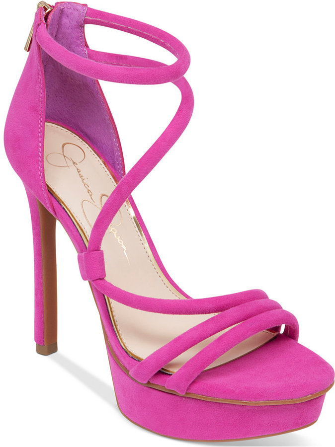 Jessica Simpson Cla Asymmetrical Platform Dress Sandals  Where to ...