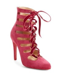 Christian Louboutin Spinetita Cage Lace Up Bootie