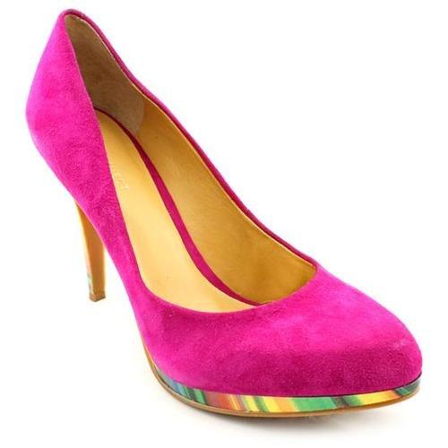 pink heeled shoes uk
