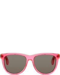 Hot Pink Sunglasses