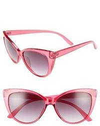 Aj Morgan Spicy 53mm Cat Eye Sunglasses Black