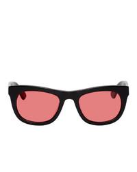 Han Kjobenhavn Black And Red Cubicle Sunglasses