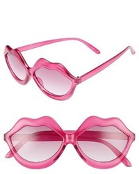 Circus By Sam Edelman 58mm Lips Sunglasses Pink
