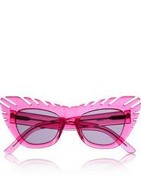 Combover cat eye acetate sunglasses medium 46095