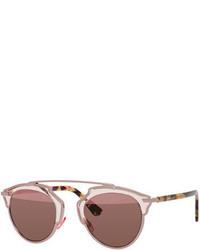 Christian Dior Dior So Real Brow Bar Mirrored Sunglasses