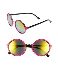 FE NY Innuendo Sunglasses Pink Black One Size