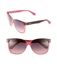 Kenneth Cole Reaction 60mm Sunglasses Pink Grey Tortoise One Size