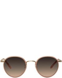 Garrett Leight Pink Wilson Sunglasses