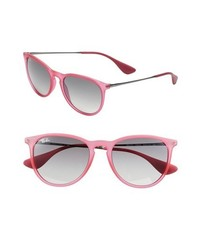 Ray-Ban Wayfarer 54mm Sunglasses Pink One Size