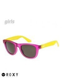Roxy Girls Little Blondie Sunglasses Pinkgrey