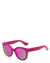 Havaianas Rubber Cat Eye Sunglasses