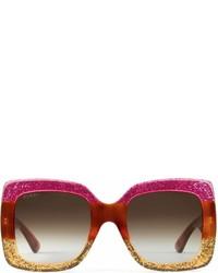 Gucci Square Frame Acetate Sunglasses