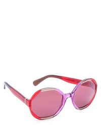 Marc Jacobs Sunglasses Geometric Mirorred Sunglasses