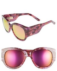 Vow London Harlow 51mm Sunglasses Pink