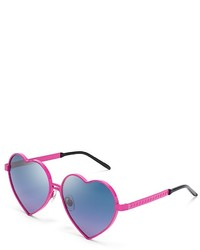 Wildfox Couture Wildfox Lolita Heart Sunglasses 59mm