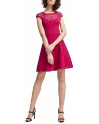French Connection Rose Fit Flare Dress